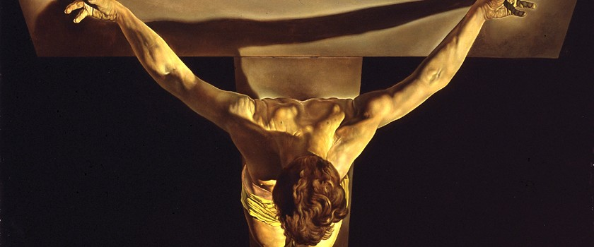 """Christ of Saint John of Cross"" by Salvador Dali"